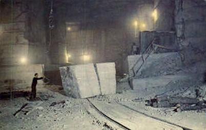 Danby Quarry - Vermont VT Postcard