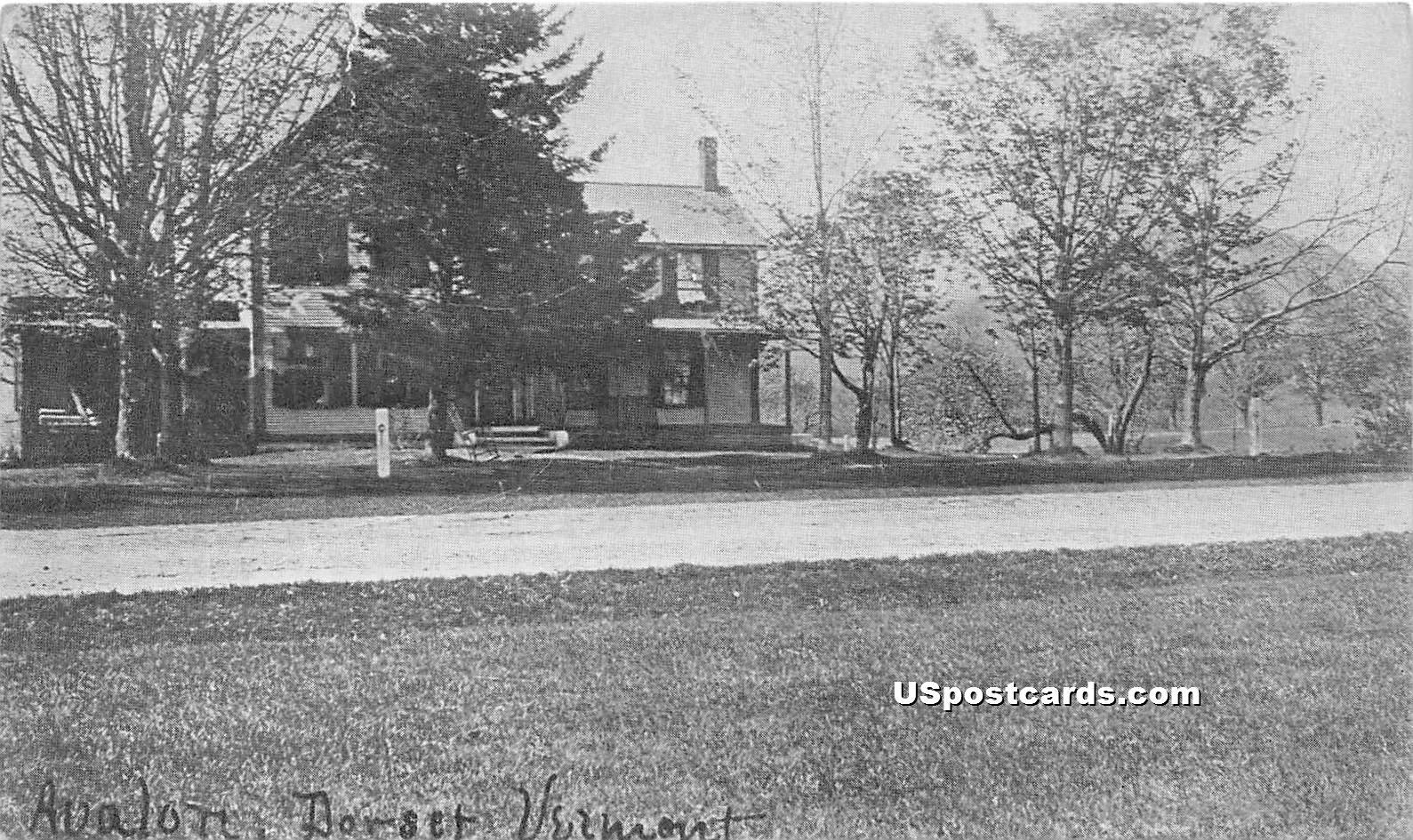 Avalon - Dorset, Vermont VT Postcard