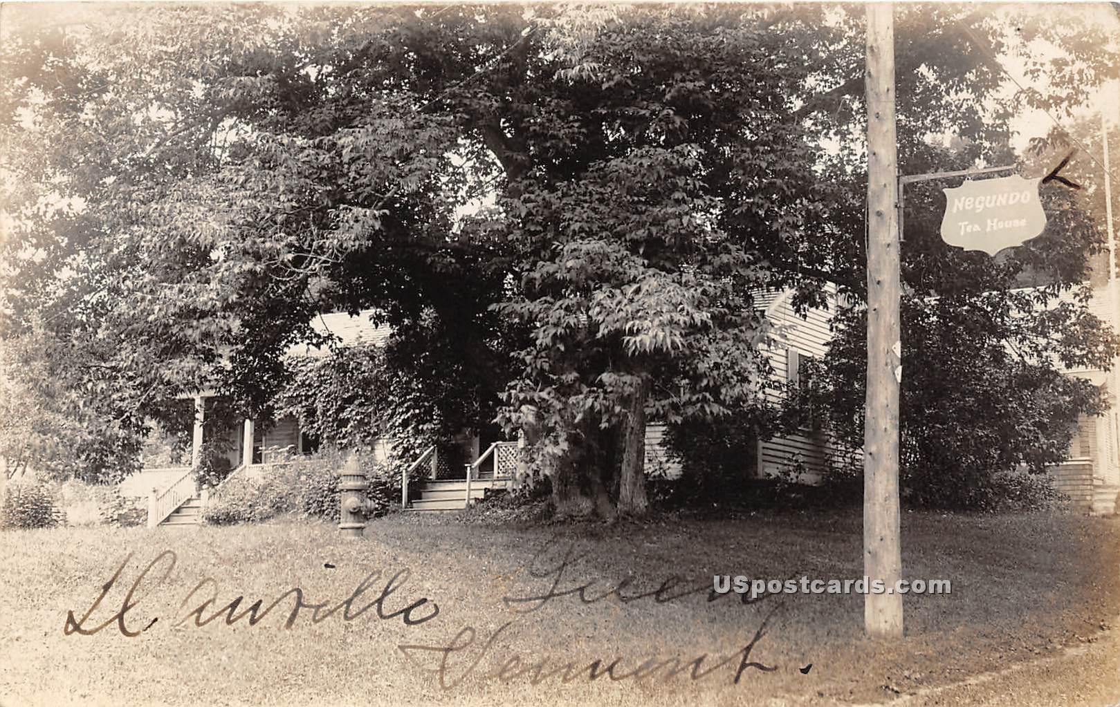 House in Trees - Danville, Vermont VT Postcard