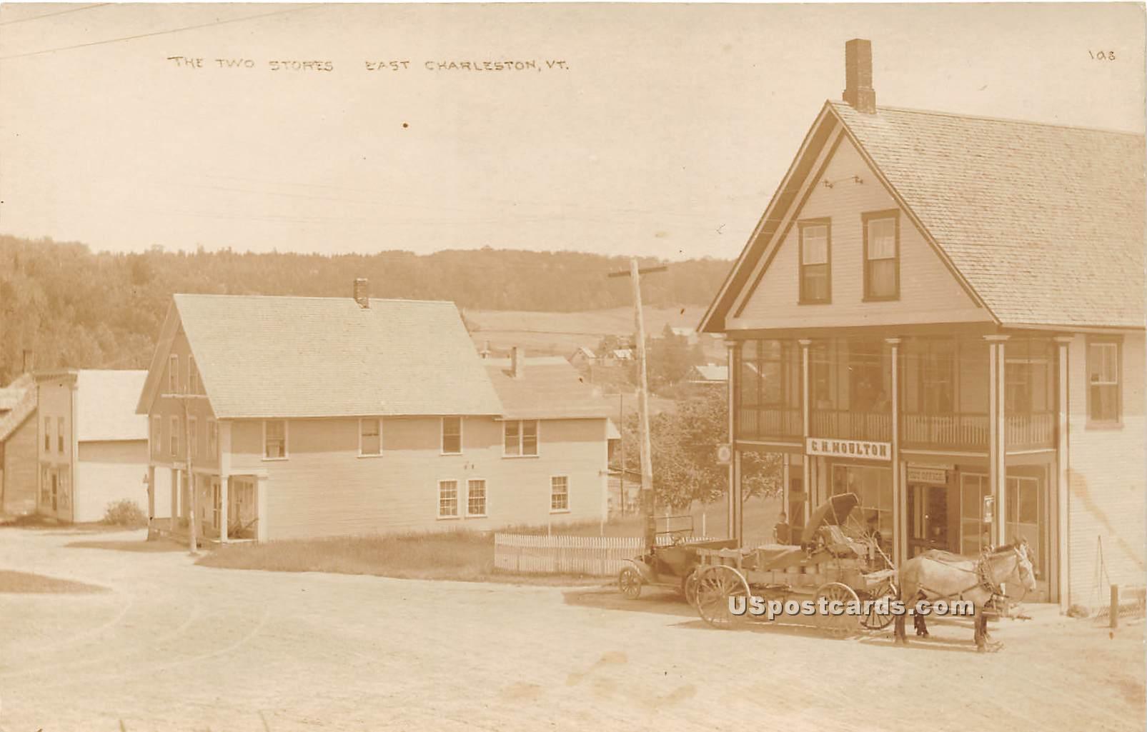 Post Office - East Charleston, Vermont VT Postcard