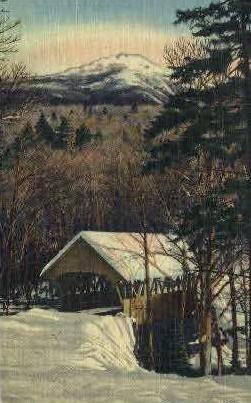 Mt. Liberty - White Mountains, Vermont VT Postcard