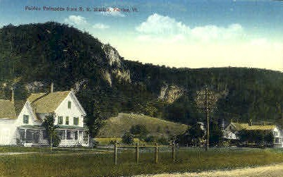 Fairlee Palisades - Vermont VT Postcard