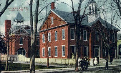 Graded School - Fair Haven, Vermont VT Postcard