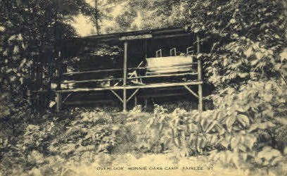 Bonnie Oaks Camp - Fairlee, Vermont VT Postcard
