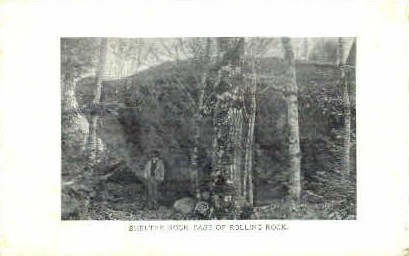Shelter Rock - Misc, Vermont VT Postcard