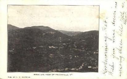 Felchville - Vermont VT Postcard