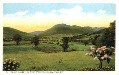 Mount Hanley - Green Mountains, Vermont VT Postcard