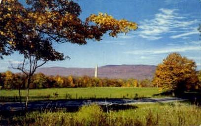 Southern Range - Green Mountains, Vermont VT Postcard