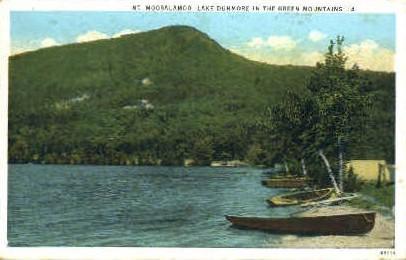 Mount Moosalamoo - Green Mountains, Vermont VT Postcard