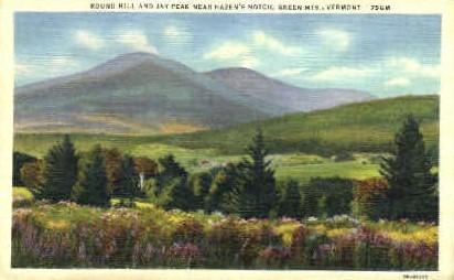 Jay Peak - Green Mountains, Vermont VT Postcard