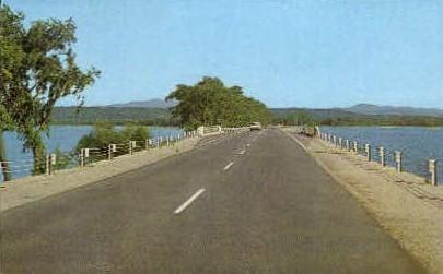 Sand Bar Bridge - Grand Isle, Vermont VT Postcard