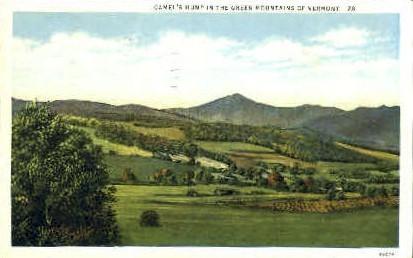 Camel's Hump - Green Mountains, Vermont VT Postcard