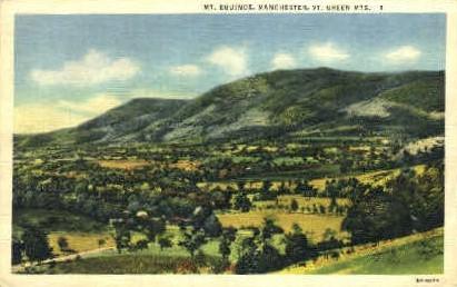 Mount Equinox - Green Mountains, Vermont VT Postcard