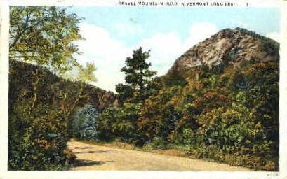 Gravel Mountain - Green Mountains, Vermont VT Postcard