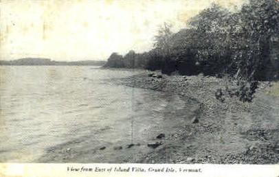 Island Villa - Green Mountains, Vermont VT Postcard