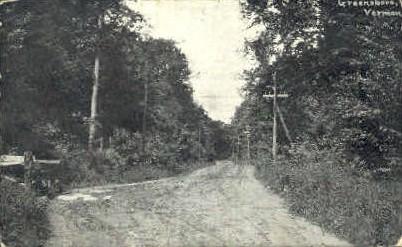 Greensboro - Vermont VT Postcard