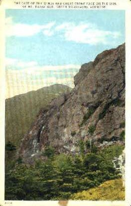 Cave of the Winds - Green Mountains, Vermont VT Postcard