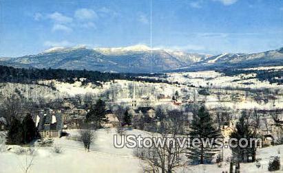 Green Mountains, VT     ;     Green Mountains, Vermont Postcard