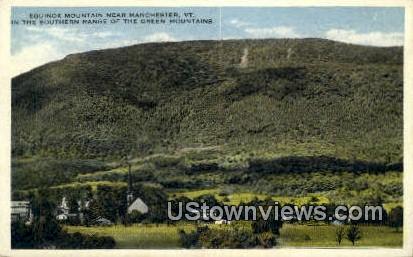 Equinox Mountain - Green Mountains, Vermont VT Postcard