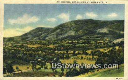 Mt Equinox, Manchester - Green Mountains, Vermont VT Postcard