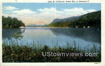 Lake St Catherine - Green Mountains, Vermont VT Postcard
