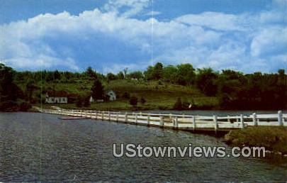 Sunset Lake - Green Mountains, Vermont VT Postcard