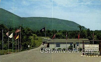 Equinox Sky Line Drive - Green Mountains, Vermont VT Postcard