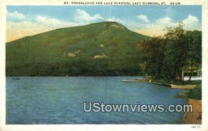 Mt. Moosalamoo - Lake Dunmore, Vermont VT Postcard