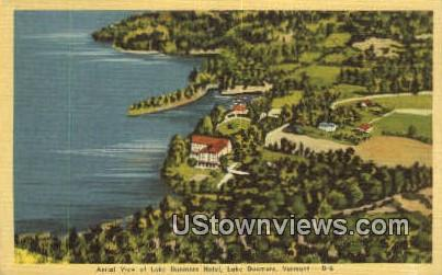 Lake Dunmore Hotel - Vermont VT Postcard