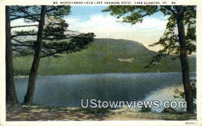 Mt Moosalamoo - Lake Dunmore, Vermont VT Postcard