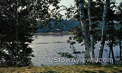 Hapgood Pond Rec Area - Peru, Vermont VT Postcard