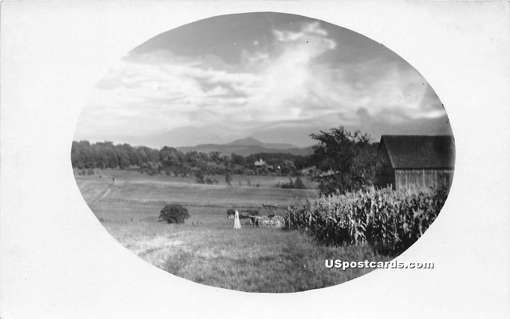 Farm - Green Mountain, Vermont VT Postcard