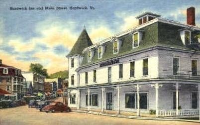 Hardwick Inn - Vermont VT Postcard