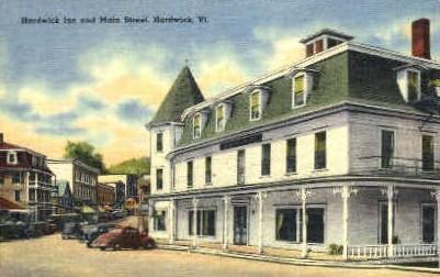 Main Street - Hardwick, Vermont VT Postcard