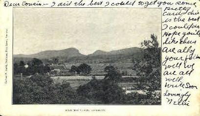 Bird Mountain - Fair Haven, Vermont VT Postcard