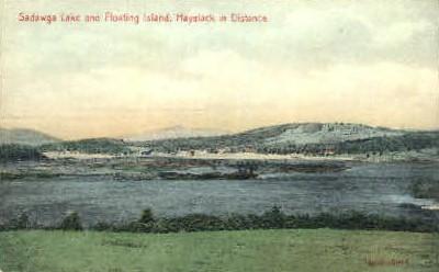 Sadawga Lake - Haystack, Vermont VT Postcard