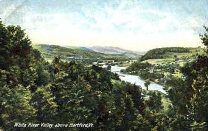 White River   - Hartford, Vermont VT Postcard