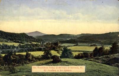 Connecticut Valley - Hartland, Vermont VT Postcard