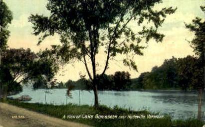 Lake Bomoseen - Hydeville, Vermont VT Postcard