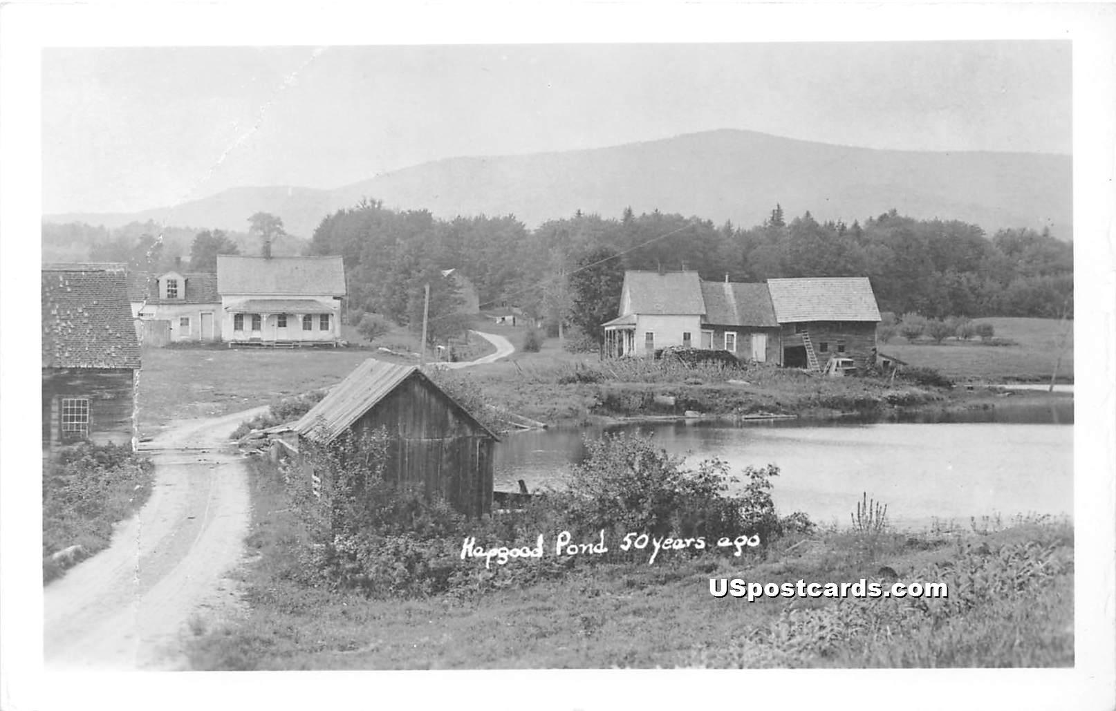 Road Scene - Hapgood Pond, Vermont VT Postcard