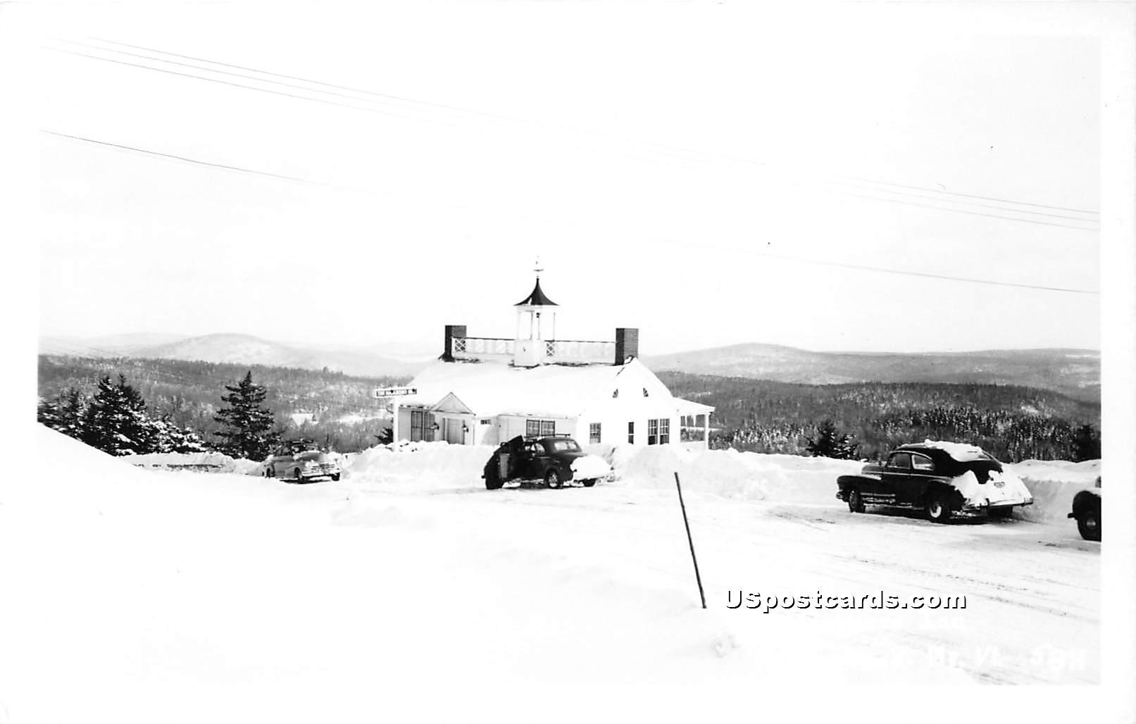 Marlboro Inn - Hogback Mountain, Vermont VT Postcard