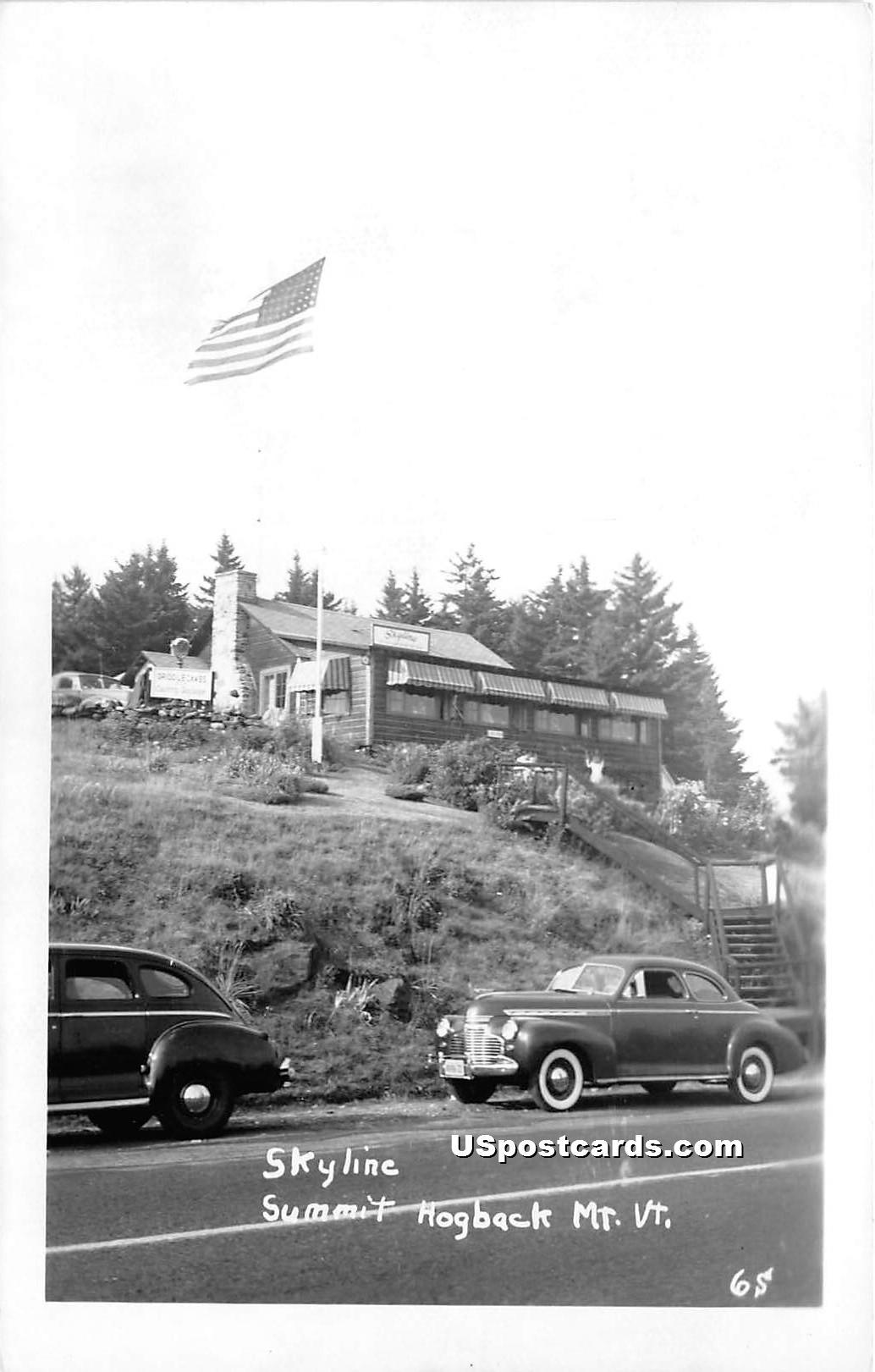 Skyline Summit - Hogback Mountain, Vermont VT Postcard