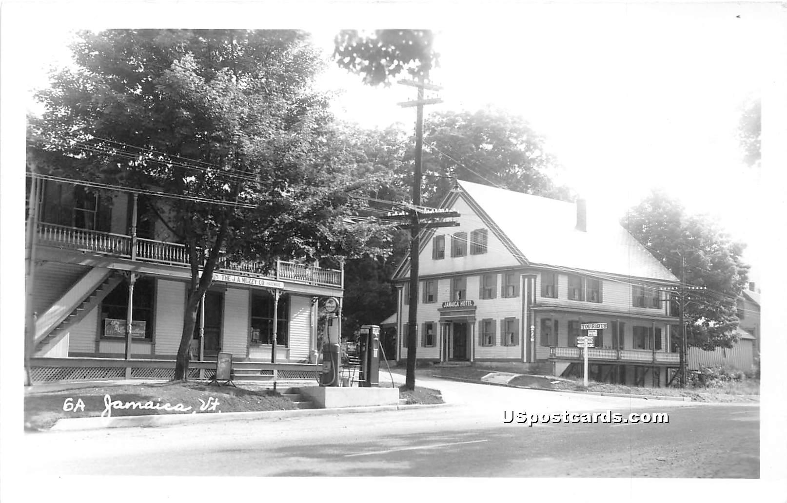 Jamaica Hotel - Vermont VT Postcard