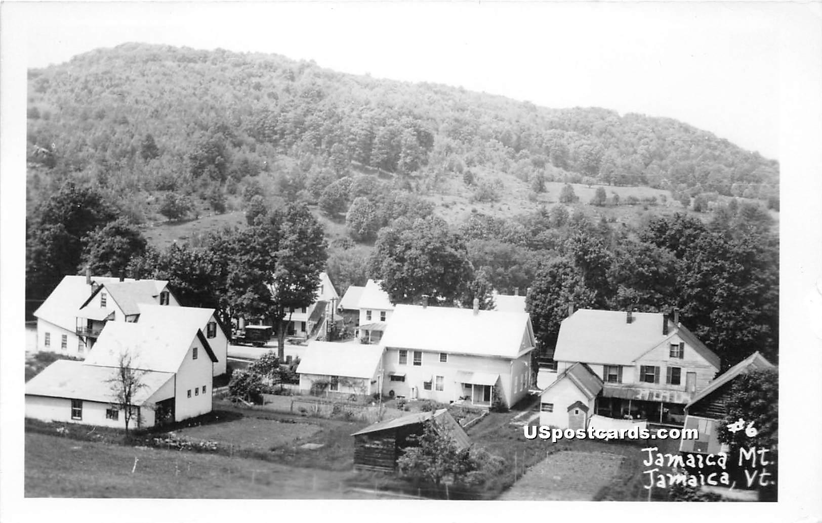 Jamaica Mountain - Vermont VT Postcard