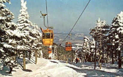 Killington Ski Resort - Vermont VT Postcard