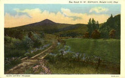 Mount Killington - Vermont VT Postcard