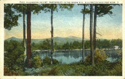 Pico - Killington, Vermont VT Postcard