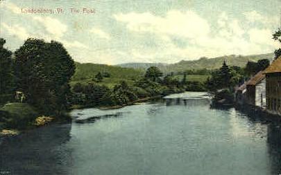 The Pond - Londonderry, Vermont VT Postcard