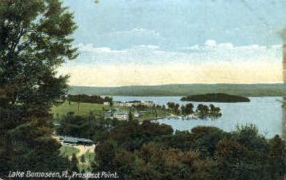 Prospect House - Lake Bomoseen, Vermont VT Postcard