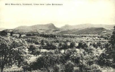 Bird Mountain - Lake Bomoseen, Vermont VT Postcard